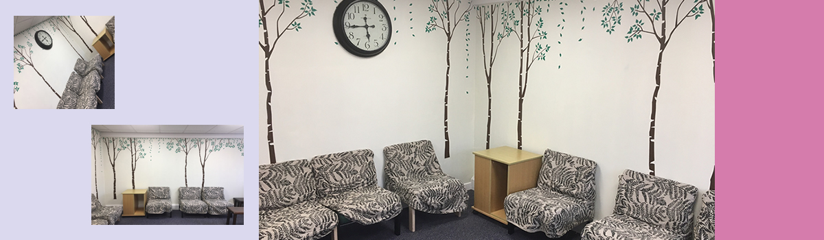Wellbeing relax room